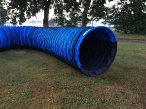 Blå tunnel
