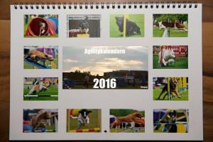 En årskalender med 12 bilder som alla är fotade av Joakim.